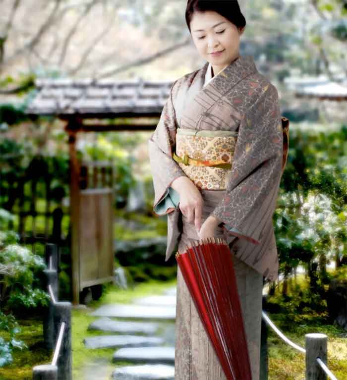 traditionelle japanische Kleidungsstücke-kimono