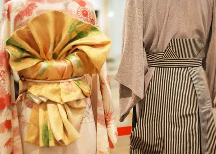 raditionelle japanische Kleidungsstücke Maru Obis