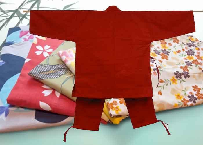 traditionelle japanische Kleidungsstücke samue
