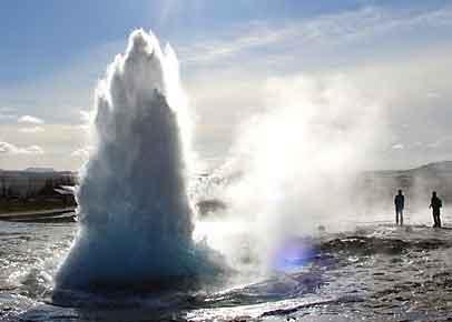 Islandreise Geysire
