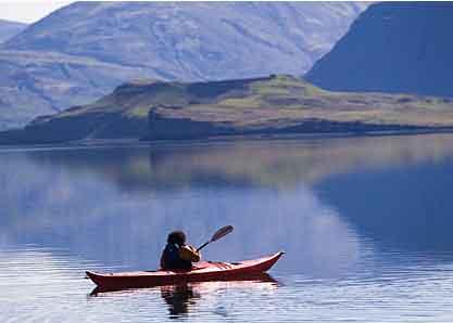 Islandreise Kajak