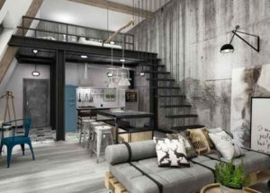 Industriedesign wird immer beliebter – Einrichtungstipps für ein Loft