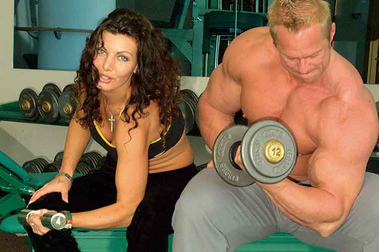 Muskelmasse - unterschied Männer u. Frauen