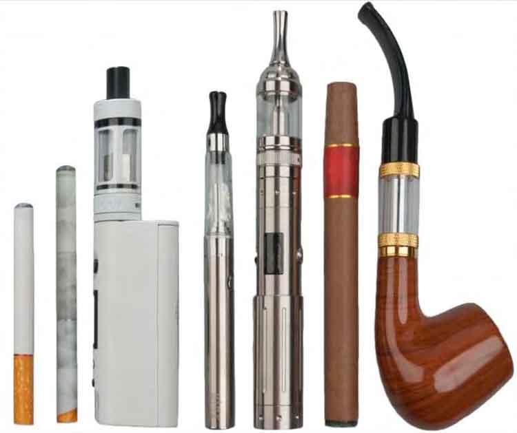verschieden elektronische zigaretten